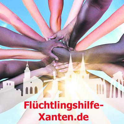 Mit diesem Foto wirbt die Flüchtlingshilfe Xanten auf ihrer Intenet- und Facebook-Seite.