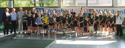 Bei den Gelderner Tischtennis-Stadtmeisterschaften nahmen in diesem Jahr auch Aktive des Hauses Freudenberg teil. Foto: privat