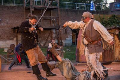 """Im Kampf """"Gut gegen Böse"""" wird auf der Freilichtbühne in Birten natürlich das Gute siegen. Foto: nno.de"""