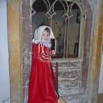 Im Schloss kann man auf Zeitreise gehen - und in historische Kostüme schlüpfen.
