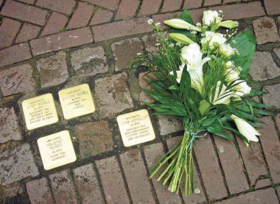Stolpersteine liegen bereits in 1.100 Orten in Deutschland. Ab dem 23. November erinnert ein Stein an das Schicksal von Maria Wackers. Foto: privat
