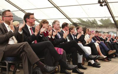 Viele Ehrengäste wohnten dem Festakt bei NN-Foto: Lorelies Christian