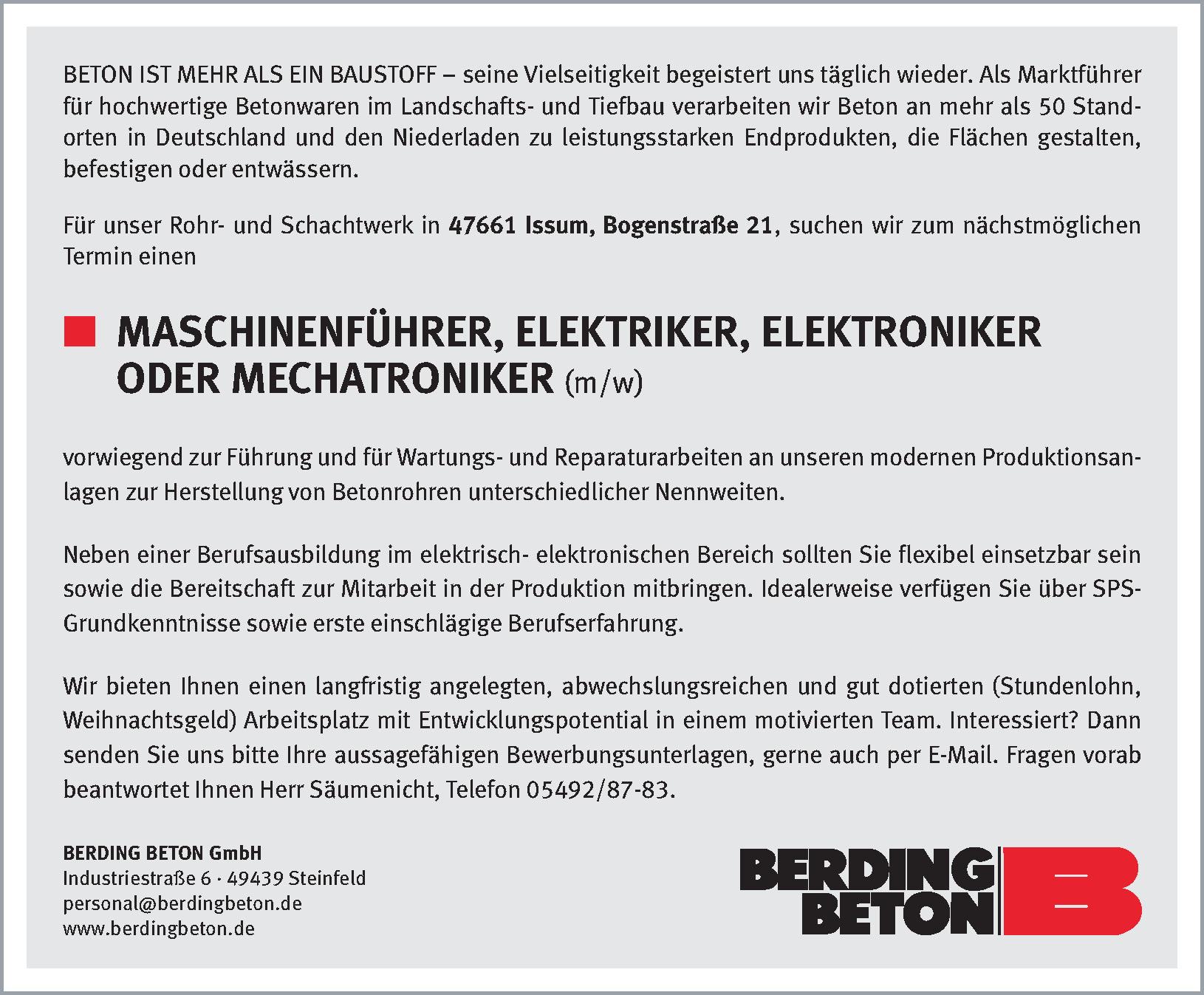Stellenmarkt | Niederrhein Nachrichten