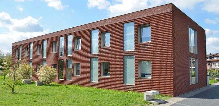 Das Verlagsgebäude in Geldern.