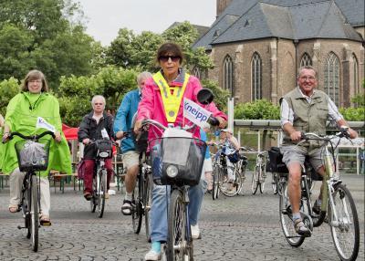 Die beliebten Radtouren des Kneipp-Vereins Gelderland beginnen wieder im April. Foto: privat