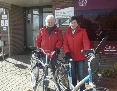Wolfgang Pohle und seine Frau Anne waren ein Wochenende lang als radelnde Leserreporter zwischen Maas und Waal unterwegs.