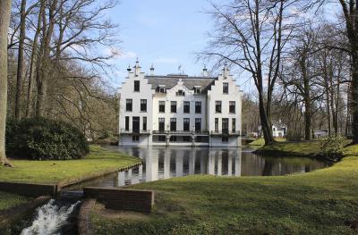 Das Landgut Staverden ist die kleinste Stadt der Benelux-Länder. NN-Fotos: Andrea Kempkens
