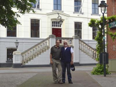 Hans-Jürgen Wohlgemuth aus Xanten (l.) und Joachim Pöpping aus Meerbusch erkundeten als Leserreporter die Region Achterhoek.