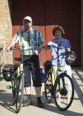 Adelheid und Herbert Kammans waren als Leserreporter auf Tour in den Niederlanden.