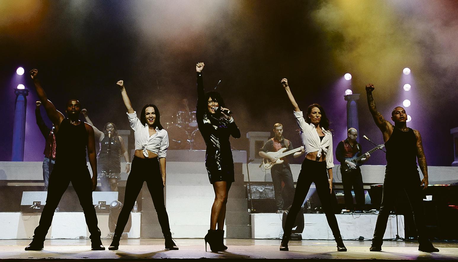 The Whitney Houston Show Niederrhein Nachrichten