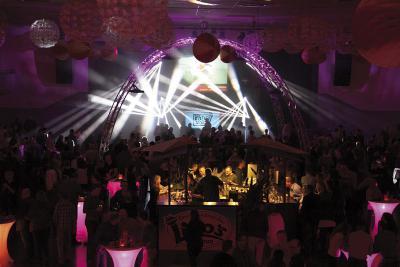 Das hochwertige Licht- und Soundsystem sorgt auch am 20 Mai. für stimmungsvolle Effekte. Foto: privat