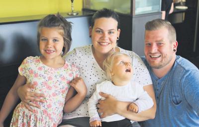 Nele, Jenny, Nora und Daniel leben in Kranenburg. NN-Foto: HF