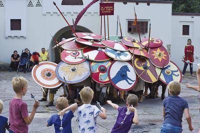 Romana Festival: Shows, Vorträge, Aktivitäten für Kinder und ein römischer Markt. Foto: Raoul van Meel