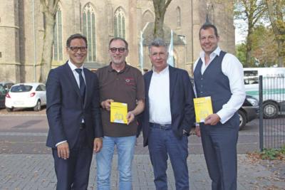 Sie gehören der Jury an: Stefan Eich, Walter Heicks, Helmut Tönnissen und Sebastian Gilleßen (v. l.) NN-Foto: SP