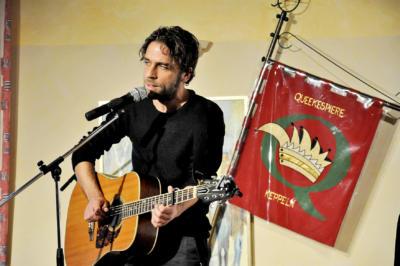Als Überraschungsgast stand der sizilianische Sänger Fabrizio Cammarata auf der Bühne.Foto: privat