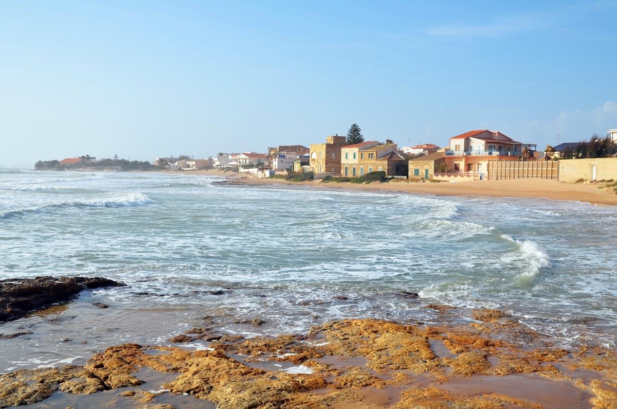 Sizilien Strand Küste Urlaub Italien