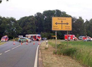 Unfall Kreisverkehr Wachtendonk